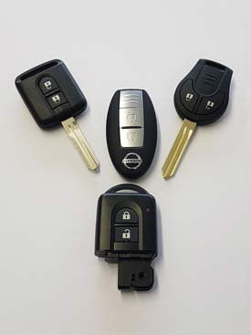 Nissan Replacement Car Keys | Lost Car Key Service 24 Hours